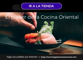 VISITA NUESTRA TIENDA DE VENTA POR INTERNET https://www.happinessrestaurante.com - Restaurante Happiness
